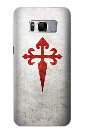 Printed Order of Santiago Cross of Saint James Samsung Galaxy S8 Case