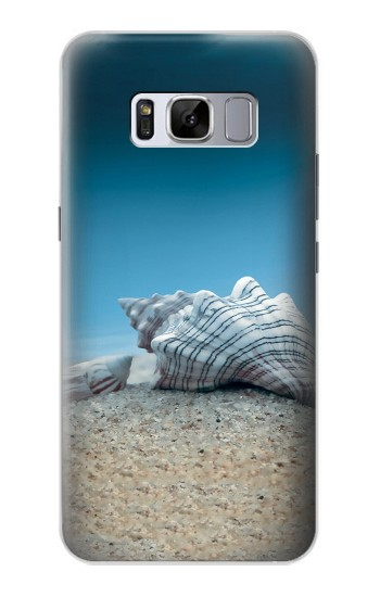 Printed Sea Shells Under the Sea Samsung Galaxy S8 Case