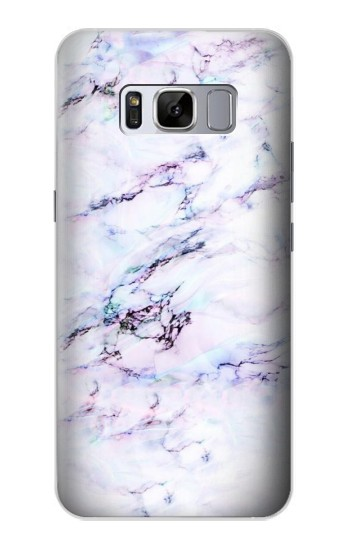 Printed Seamless Pink Marble Samsung Galaxy S8 Case
