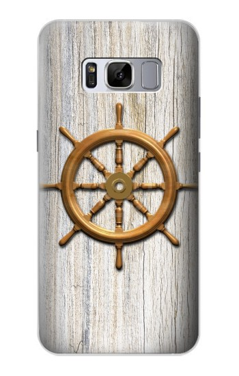 Printed Steering Wheel Ship Samsung Galaxy S8 Case