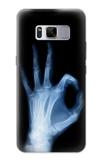Printed X-Ray Hand Sign OK Samsung Galaxy S8 Case