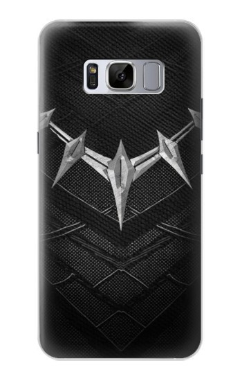 Printed Black Panther Inspired Costume Necklace Samsung Galaxy S8 Case