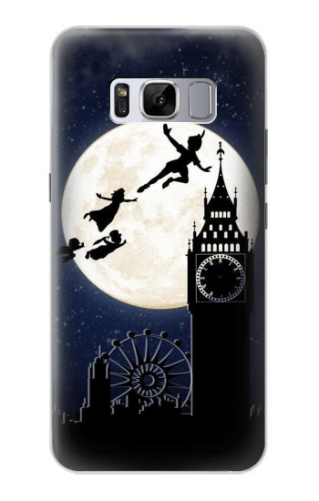 Printed Peter Pan Fly Fullmoon Night Samsung Galaxy S8 Case