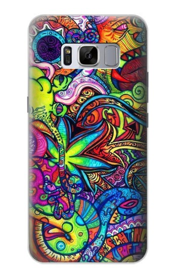 Printed Colorful Art Pattern Samsung Galaxy S8 Case