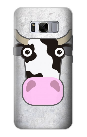 Printed Cow Cartoon Samsung Galaxy S8 Case