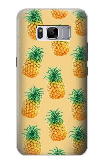 Printed Pineapple Pattern Samsung Galaxy S8 Case