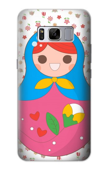Printed Russian Doll Matryoshka Samsung Galaxy S8 Case