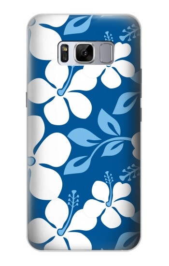 Printed Hawaii Blue Pattern Samsung Galaxy S8 Case