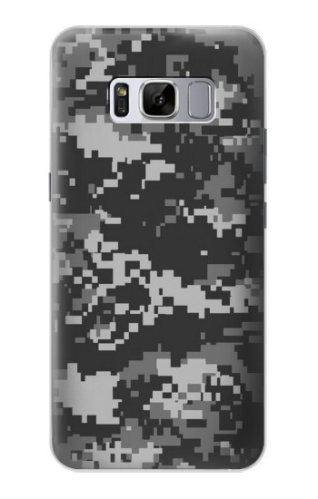 Printed Urban Black Camouflage Samsung Galaxy S8 Case