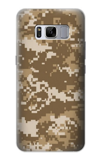 Printed Army Camo Tan Samsung Galaxy S8 Case