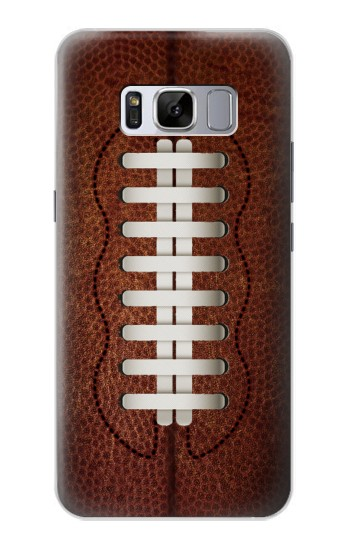 Printed Leather Vintage Football Samsung Galaxy S8 Case