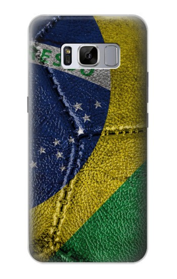 Printed Brazil Flag Vintage Football 2018 Samsung Galaxy S8 Case