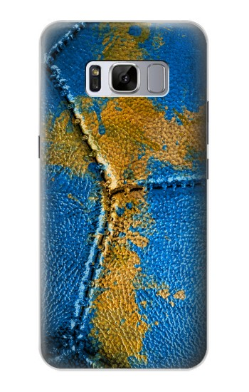 Printed Sweden Flag Vintage Football 2018 Samsung Galaxy S8 Case