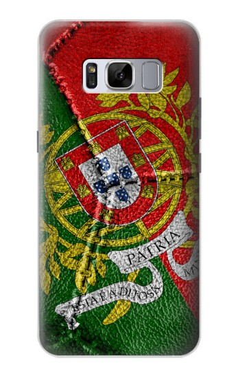 Printed Portugal Flag Vintage Football 2018 Samsung Galaxy S8 Case