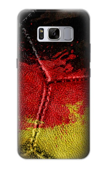 Printed Germany Flag Vintage Football 2018 Samsung Galaxy S8 Case