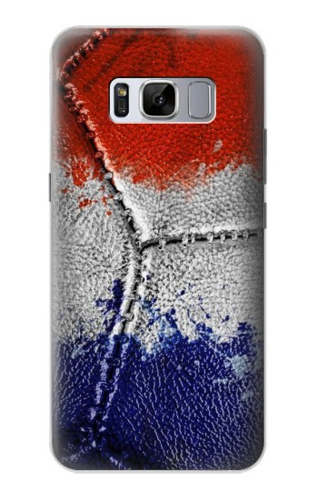 Printed France Flag Vintage Football 2018 Samsung Galaxy S8 Case