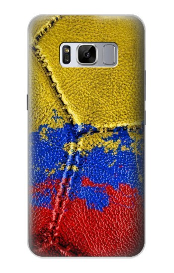 Printed Colombia Flag Vintage Football 2018 Samsung Galaxy S8 Case