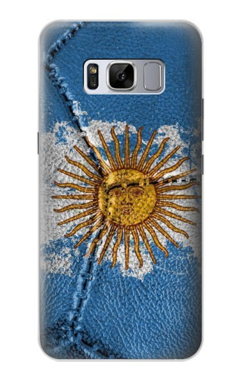 Printed Argentina Flag Vintage Football 2018 Samsung Galaxy S8 Case