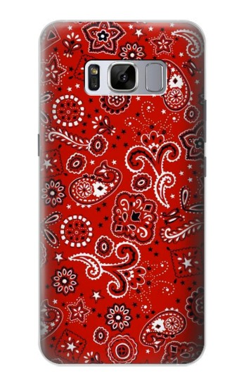Printed Red Bandana Samsung Galaxy S8 Case