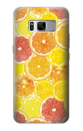 Printed Lemon Samsung Galaxy S8 Case