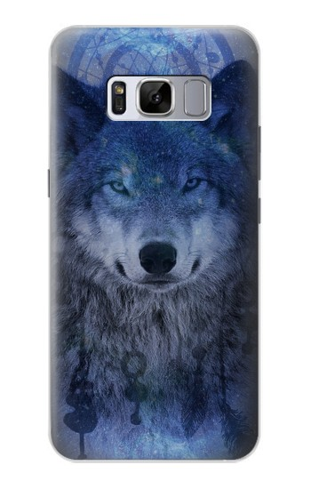 Printed Wolf Dream Catcher Samsung Galaxy S8 Case
