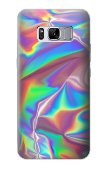 Printed Holographic Photo Printed Samsung Galaxy S8 Case