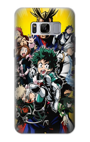 Printed My Hero Academia Samsung Galaxy S8 Case