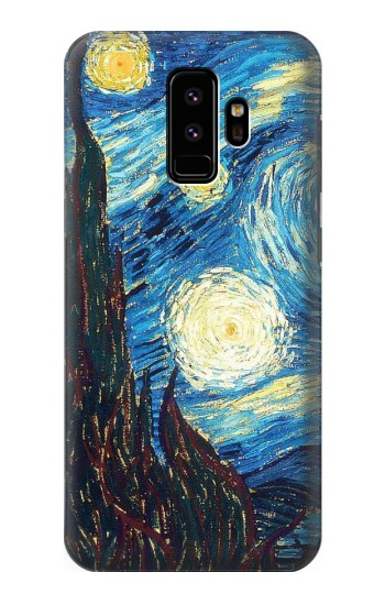 Printed Van Gogh Starry Nights Samsung Galaxy S9 Case
