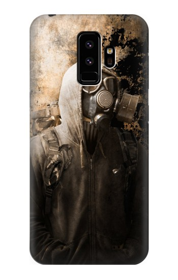 Printed Gas Mask Stalker Samsung Galaxy S9 Case
