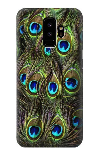 Printed Peacock Feather Samsung Galaxy S9 Case