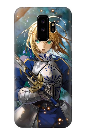 Printed Fate Stay Night Saber Arturia Pendragon Samsung Galaxy S9 Case