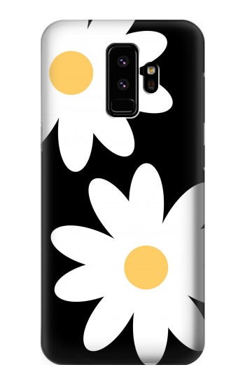 Printed Daisy White Flowers Samsung Galaxy S9 Case