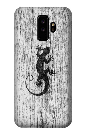 Printed Gecko Wood Graphics Printed Samsung Galaxy S9 Case