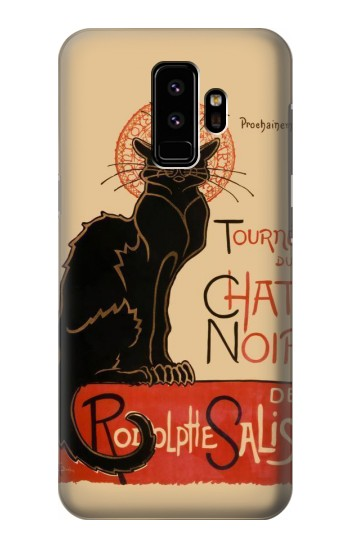 Printed Chat Noir The Black Cat Samsung Galaxy S9 Case