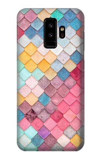 Printed Candy Minimal Pastel Colors Samsung Galaxy S9 Case
