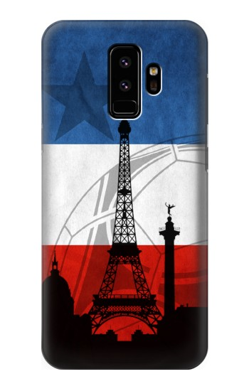 Printed France Football Flag Samsung Galaxy S9 Case