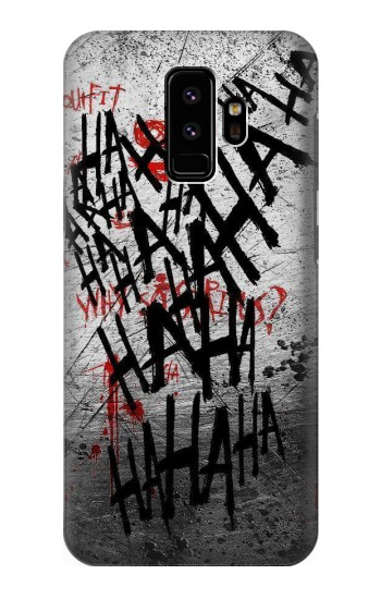 Printed Joker Hahaha Blood Splash Samsung Galaxy S9 Case