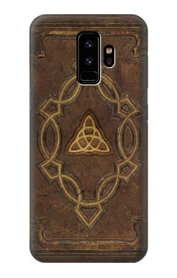 Printed Spell Book Cover Samsung Galaxy S9 Case
