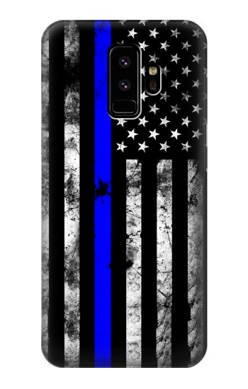 Printed Thin Blue Line USA Samsung Galaxy S9 Case