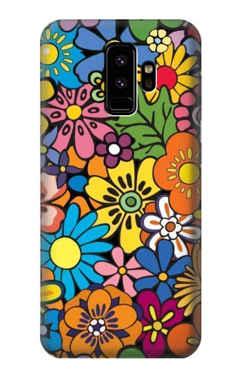 Printed Colorful Flowers Pattern Samsung Galaxy S9 Case