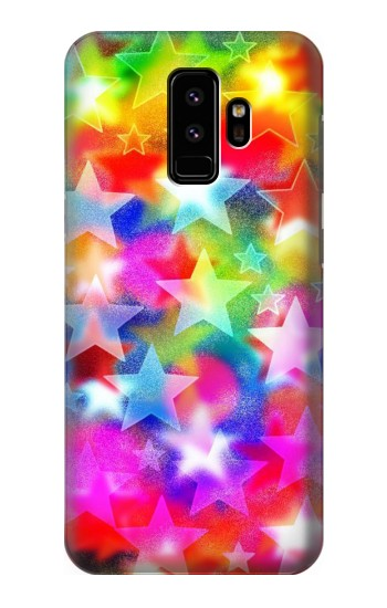 Printed Colourful Disco Star Samsung Galaxy S9 Case