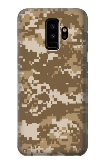 Printed Army Camo Tan Samsung Galaxy S9 Case