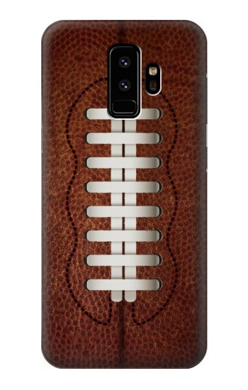 Printed Leather Vintage Football Samsung Galaxy S9 Case