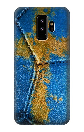 Printed Sweden Flag Vintage Football 2018 Samsung Galaxy S9 Case