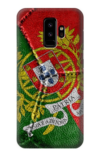 Printed Portugal Flag Vintage Football 2018 Samsung Galaxy S9 Case