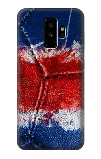 Printed Costa Rica Flag Vintage Football 2018 Samsung Galaxy S9 Case
