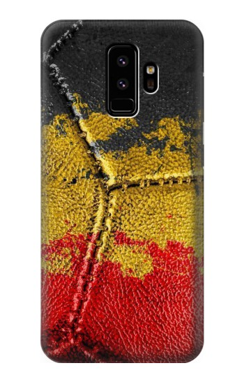 Printed Belgium Flag Vintage Football 2018 Samsung Galaxy S9 Case