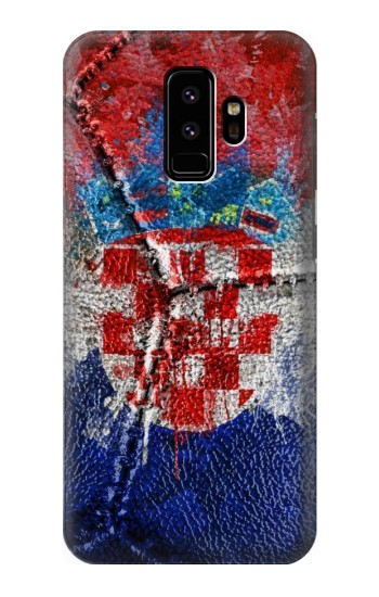 Printed Croatia Flag Vintage Football 2018 Samsung Galaxy S9 Case