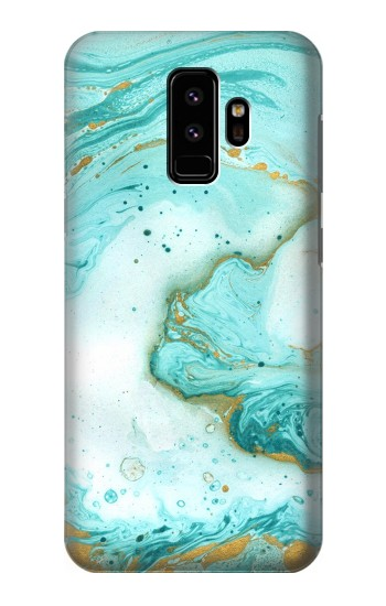 Printed Green Marble Graphic Print Samsung Galaxy S9 Case