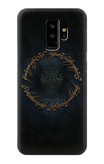 Printed Lord of The Rings Ring Elf Writing Samsung Galaxy S9 Case